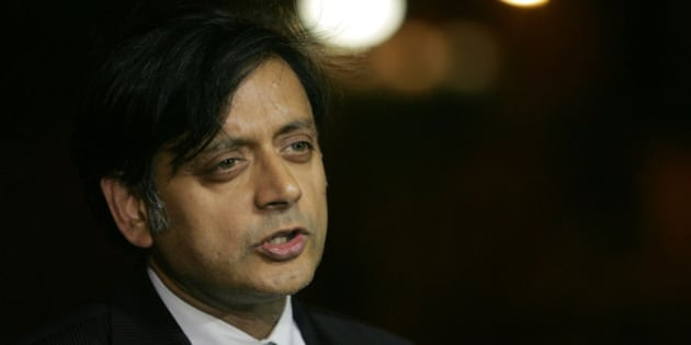 FILE- In this June 19, 2006 file photograph, India's junior foreign minister Shashi Tharoor, then a United Nations undersecretary general for communications and public information, speaks to the media in New Delhi, India.  Tharoor has resigned amid allegations of corruption in the bidding for a new team in the lucrative Indian Premier League cricket tournament. The former UN diplomat met with Prime Minister Manmohan Singh and several senior leaders of the ruling Congress party on Sunday, April 18, 2010, before sending in his resignation later that night.(AP Photo/Gurinder Osan, File)