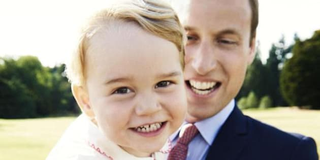 George Il Regalo Di Nonno Carlo Per Il Compleanno Del Principino è