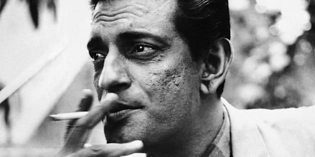 June 1967 file photo of Satyajit Ray, a film-maker from India. (AP Photo)