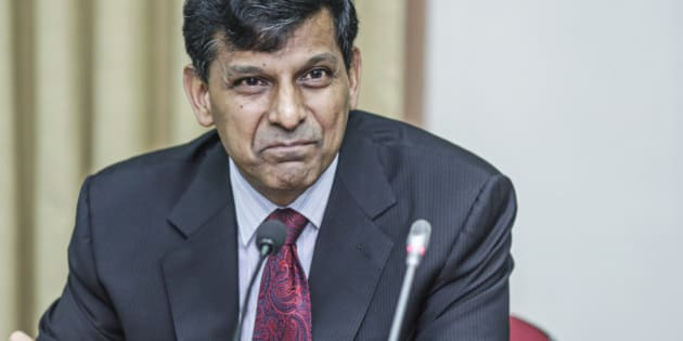 Raghuram Rajan, governor of the Reserve Bank of India (RBI), speaks during a news conference at the central bank's headquarters in Mumbai, India, on Tuesday, June 2, 2015. India's central bank lowered interest rates for a third time this year and said it'd wait to assess monsoon rains before acting again, an outlook that disappointed investors looking for more cuts to spur weak economic growth. Photographer: Dhiraj Singh/Bloomberg via Getty Images