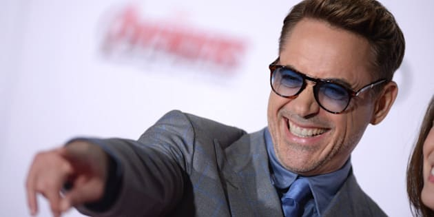Robert Downey Jr. attends the premiere of Marvel's 'Avengers: Age Of Ultron' at Dolby Theatre on April 13, 2015 in Los Angeles, California.