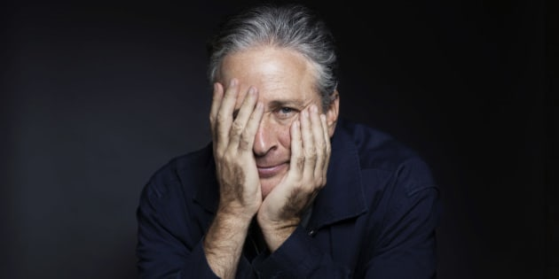 "In this Nov. 7, 2014 photo, Jon Stewart poses for a portrait in promotion of his film,""Rosewater,"" in New York. Stewart, who hosts the political satire series ""The Daily Show with Jon Stewart,"" makes his directorial and screenwriting debut in the film about a journalist who is detained in Iran. (Photo by Victoria Will/Invision/AP)"