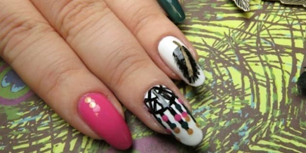 Manimonday Dreamcatcher Nail Art For Sweet Summer Dreams Huffpost