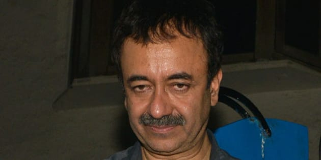 MUMBAI,INDIA MAY 18: Rajkumar Hirani at the party hosted by Deepika Padukone in Mumbai.(Photo by Milind Shelte/India Today Group/Getty Images)