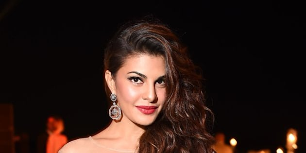 VENICE, ITALY - MAY 30:  (EXCLUSIVE COVERAGE) Jacqueline Fernandez attends the Art Biennale Party hosted by Mr. Emir Uyar on May 30, 2015 at the St Regis Venice San Clemente Palace in Venice, Italy.  (Photo by Venturelli/Getty Images for St Regis Venice San Clemente Palace)