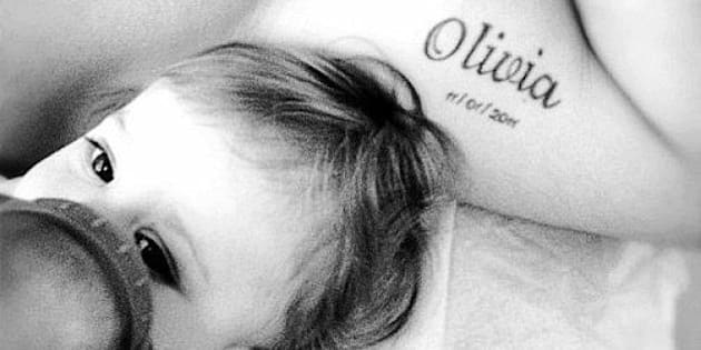 Baby Name Tattoos Youll Fall In Love With Huffpost Canada