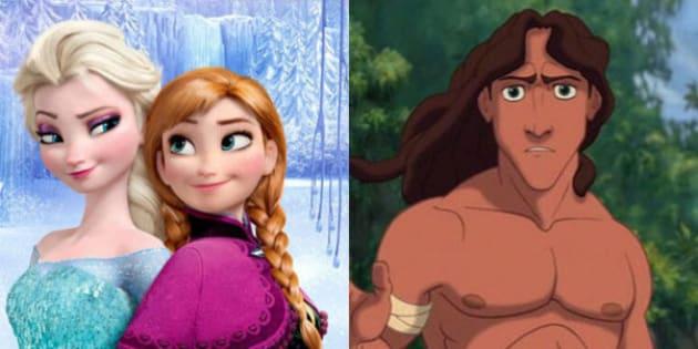 une thorie disney se confirme il y a bien un lien entre la reine des neige et tarzan - Reine Neige