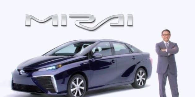 """L'auto a idrogeno Toyota Mirai presto in vendita via ---> <a href=""""http://www.diggita.it/v.php?id=1417016"""" rel=""""nofollow"""">www.diggita.it/v.php?id=1417016</a>"""