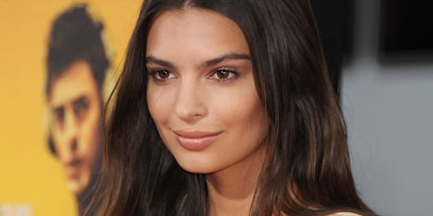 HOLLYWOOD, CA - AUGUST 20:  Actress Emily Ratajkowski arrives at the Los Angeles Premiere 'We Are Your Friends' at TCL Chinese Theatre on August 20, 2015 in Hollywood, California.  (Photo by Jon Kopaloff/FilmMagic)