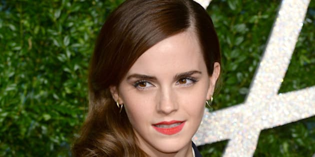 Emma Watson arriving at the British Fashion Awards 2014, the Colosseum Theatre, London.