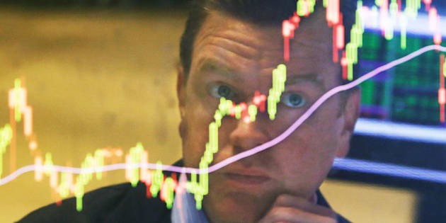 Specialist Michael O'Mara works on the floor of the New York Stock Exchange, Tuesday, Aug. 25, 2015. U.S. stocks jumped at the open after China's central bank cut interest rates to support its economy. (AP Photo/Richard Drew)