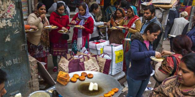 Old market of Delhi