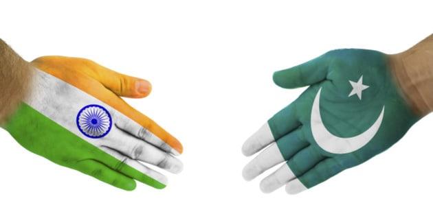 India-Pakistan Handshake For Peace