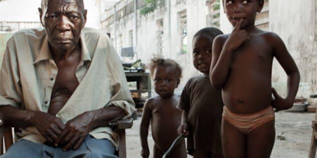 réfugiés de RDC au congo brazza, dans la région de l'équateur