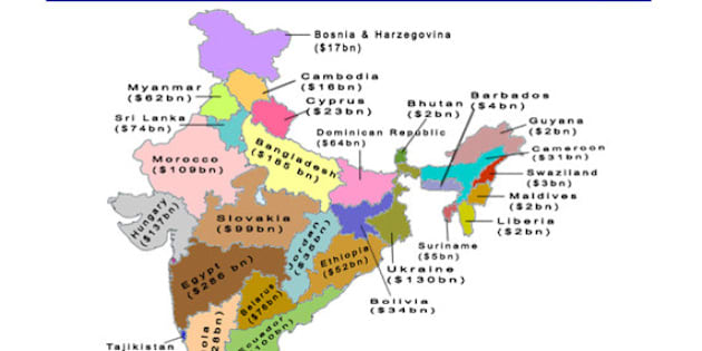 This Map Shows That Each Indian State Is A Country In Itself