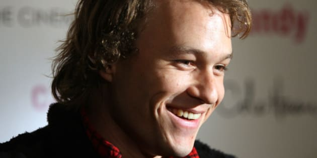 "** FILE ** In this Nov. 6, 2006 file photo, actor Heath Ledger arrives for the premiere of his new film ""Candy"" in New York. Ledger's performance in the Batman tale ""The Dark Knight"" is so remarkable that next Jan. 22, the one-year anniversary of his death, he could become just the seventh actor in Oscar history to earn a posthumous nomination.  (AP Photo/Dima Gavrysh, file)"
