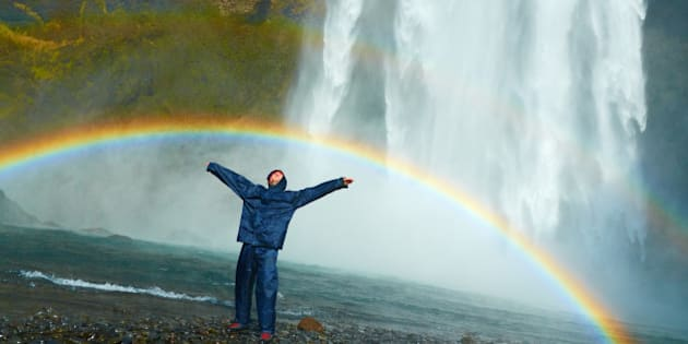 """my friend enjoying with happiness a huge rainbow under the waterfall of Skogafoss in Iceland  <b>Visit my travel blog  <a href=""""http://earthincolors.wordpress.com"""" rel=""""nofollow"""">earthincolors.wordpress.com</a> to see my best pics and read my travel stories </b>  <b> Follow me on <a href=""""http://www.facebook.com/MoyanBrenn"""" rel=""""nofollow"""">FACEBOOK </a> ( send me a friendship request) and <a href=""""http://twitter.com/moyan_brenn"""" rel=""""nofollow"""">TWITTER</a> to stay updated with my future pictures!</b>   . <b><u>**** COPYRIGHT AND CC INFORMATION ****</u></b>  If you like and want to use my photos you can do it for free <b>BUT</b> first  <b>you HAVE to read and respect </b> my rules and policy reported  in my profile page here <a href=""""http://www.flickr.com/people/aigle_dore/"""">www.flickr.com/people/aigle_dore/</a> Thanks"""