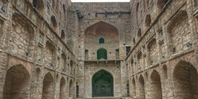 Agrasen ki Baoli is a 60-meter long and 15-meter wide historical step well on Hailey Road near Connaught Place, a short walk from Jantar Mantar in New Delhi, India.