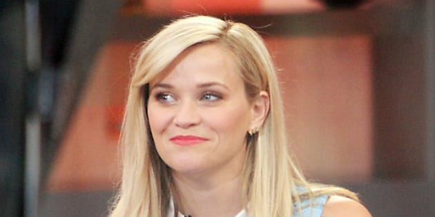 NEW YORK, NY - MAY 4: Reese Witherspoon at Good Morning America promoting her new film, 'Hot Pursuit' on May 4, 2015 in New York City. Credit: RW/MediaPunch/IPX