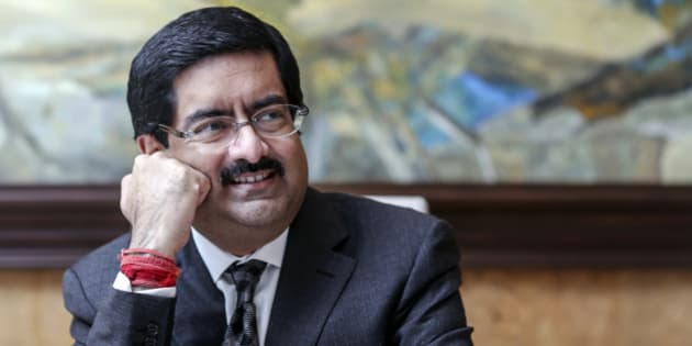 Billionaire Kumar Mangalam Birla, chairman of Aditya Birla Group, listens during an interview in Mumbai, India, on Monday, Nov. 10, 2014. Less than two years after calling India a risky place for investment, Birla, who runs companies from the worlds largest rolled aluminum maker to Indias biggest cement producer, has changed his mind. The reason: Prime Minister Narendra Modi. Photographer: Dhiraj Singh/Bloomberg via Getty Images