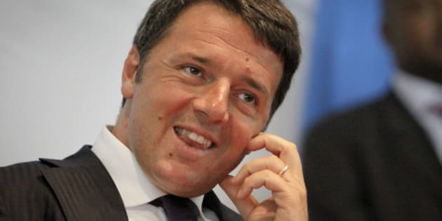 Italy's Prime Minister Matteo Renzi gives a public lecture at the University of Nairobi in Kenya Wednesday, July 15, 2015. Renzi is on an official visit to Kenya and also met with Kenya's President Uhuru Kenyatta. (AP Photo/Khalil Senosi)