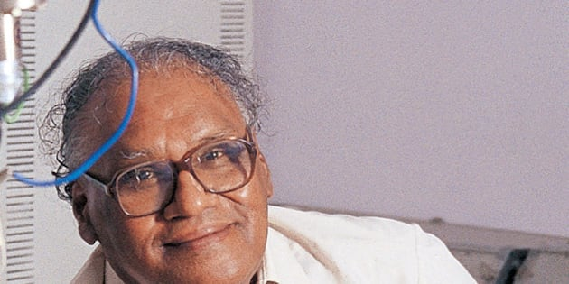 INDIA - DECEMBER 24:  CNR Rao, Professor, Jawaharlal Nehru Centre for Advanced Scientific Research, Bangalore, India.  (Photo by Deepak G Pawar/The India Today Group/Getty Images)