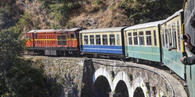 Asia, India, North-West India, Himachal Pradesh, Kalkata Shimla Railway