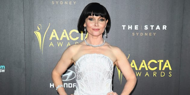 SYDNEY, AUSTRALIA - JANUARY 29:  Essie Davis arrives at the 4th AACTA Awards Ceremony at The Star on January 29, 2015 in Sydney, Australia.  (Photo by Don Arnold/WireImage)