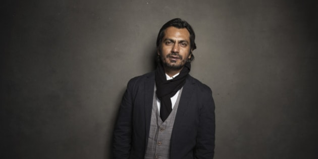 Nawazuddin Siddiqui poses for a portrait at Quaker Good Energy Lodge with GenArt and the Collective , during the Sundance Film Festival, on Friday, Jan. 17, 2014 in Park City, Utah. (Photo by Victoria Will/Invision/AP)
