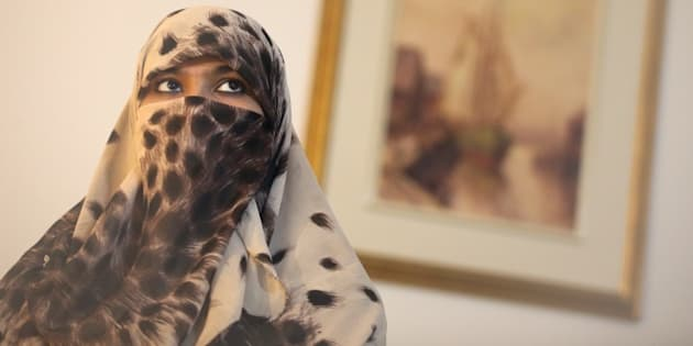 TORONTO, ON - FEBRUARY 12:  Zunera Ishaq, woman who launched the legal challenge against Ottawa's niqab ban at citizenship oath-taking ceremony poses for pictures in her home.        (Vince Talotta/Toronto Star via Getty Images)