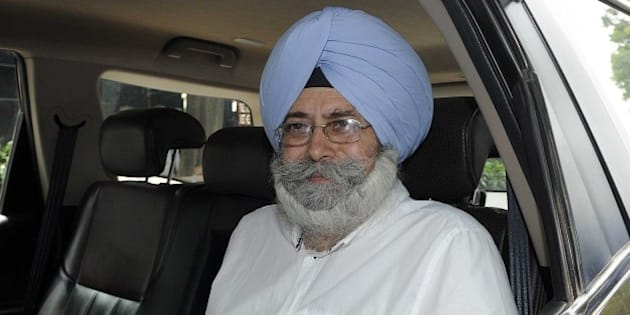 NEW DELHI, INDIA - AUGUST 16: Senior advocate of Delhi High Court, politician, Human Rights activist, and author HS Phoolka leaves after wishing Delhi Chief Minister Arvind Kejriwal on his birthday at Civil Line on August 16, 2015 in New Delhi, India. Kejriwal (born on 16 August 1968) celebrating his 47th birthday on August 16. Born in Haryana's Hisar, he started his debut in politics while fighting the campaign against corruption with social activist Anna Hazare. Prime Minister Narendra Modi congratulated Delhi Chief Minister Arvind Kejriwal on his 47th birthday over phone. (Photo by Sonu Mehta/Hindustan Times via Getty Images)