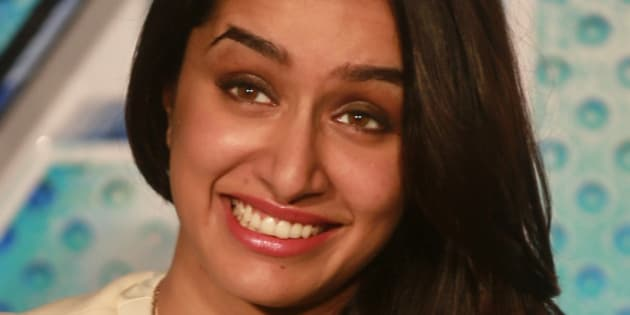 Bollywood actress Shraddha Kapoor smiles as she listens to a question from a journalist during the trailer unveiling of ABCD 2 (Any Body Can Dance 2) in Mumbai, India, Wednesday, April 22, 2015. The movie is scheduled for release on June 19, 2015. (AP Photo/Rafiq Maqbool)