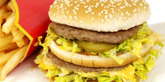 Mcdonalds Big Mac beefburger