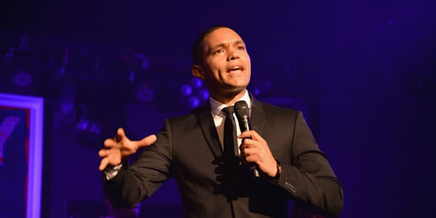EAST HAMPTON, NY - AUGUST 15:  Trevor Noah speaks at Apollo in the Hamptons 2015 at The Creeks on August 15, 2015 in East Hampton, New York.  (Photo by Kevin Mazur/Getty Images  for The Apollo)