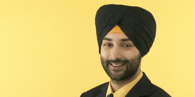 Sikh Businessman