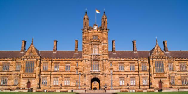 University of Sydney quadrangle.