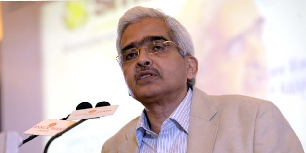 NEW DELHI,INDIA SEPTEMBER 23: Shaktikanta Das Economic Affairs Secretary Ministry of Finance at the Global Investors Forum.(Photo by Yasbant Negi/India Today Group/Getty Images)