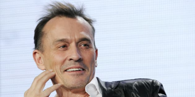 """Robert Knepper, a cast member in the television series """"Cult,"""" is pictured during a panel discussion on the show at The CW Winter TCA Tour at the Langham Huntington Hotel on Sunday, Jan. 13, 2013, in Pasadena, Calif. (Photo by Chris Pizzello/Invision/AP)"""