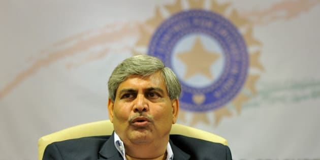 Shashank Manohar, president of the Board of Control for Cricket in India (BCCI), addresses a news conference at BCCI headquarters in Mumbai on April 26, 2010. Manohar announced that businessman Chirayu Amin has been named as interim chairman of the Indian Premier League in place of the suspended Lalit Modi. Amin, who runs a pharmaceutical business in the western city of Vadodara, is one of the governing body's five vice-presidents and a member of the Twenty20 competition's governing council. AFP PHOTO/ Sajjad HUSSAIN (Photo credit should read SAJJAD HUSSAIN/AFP/Getty Images)
