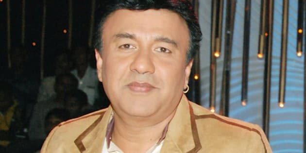 MUMBAI, INDIA - SEPTEMBER 24: Anu Malik on the sets of TV Show 'Entertainment Ke Liye Kuch Bhi Karega. (Photo by Yogen Shah/India Today Group/Getty Images)