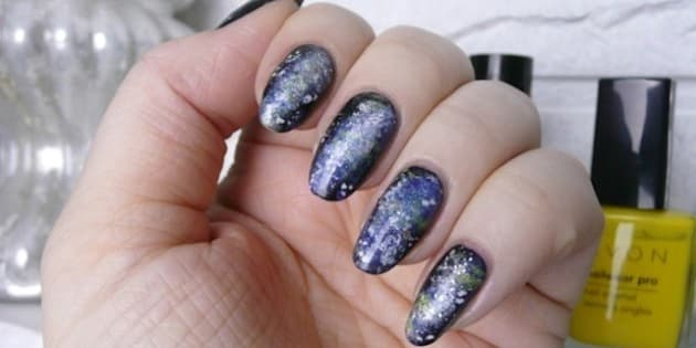 Manimonday how to a create simple galaxy nail art design manimonday how to a create simple galaxy nail art design prinsesfo Choice Image