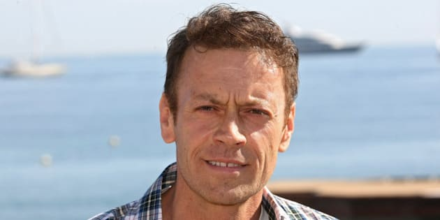 """Italian actor, producer, director, Rocco Siffredi poses for photographers during the MIPTV (International Television Programme Market), Tuesday, April 5, 2011, in Cannes, southern France.He celebrates the 5th anniversary of the XXX tv channel """"Dorcel TV"""". (AP Photo/Lionel Cironneau)"""