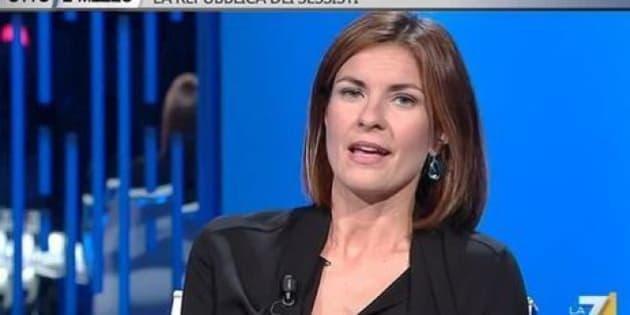 Alessandra Moretti A Otto E Mezzo Il Look Più Castigato Danneggia