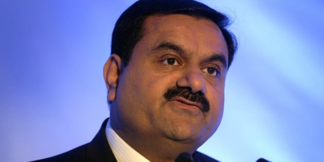 MUMBAI, INDIA  FEBRUARY 23: Gautam Adani, Chairman of the Adani Group during a press conference at a press conference in Mumbai to unveil the companys new global corporate brand identity and logo on February 23, 2012 in Mumbai, India. (Photo by Abhijit Bhatlekar/Mint via Getty Images)