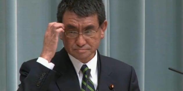 河野太郎氏のブログ、入閣で閲覧...
