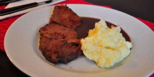 meia boca no final, o melhor foi o molho ... a carne não se entendeu com o Braseado que queria fazer ....
