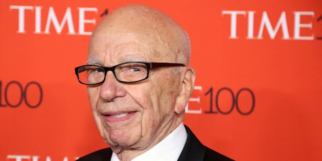 NEW YORK, NY - APRIL 21:  News Corp founder Rupert Murdoch attends the 2015 Time 100 Gala at Frederick P. Rose Hall, Jazz at Lincoln Center on April 21, 2015 in New York City.  (Photo by Taylor Hill/Getty Images)