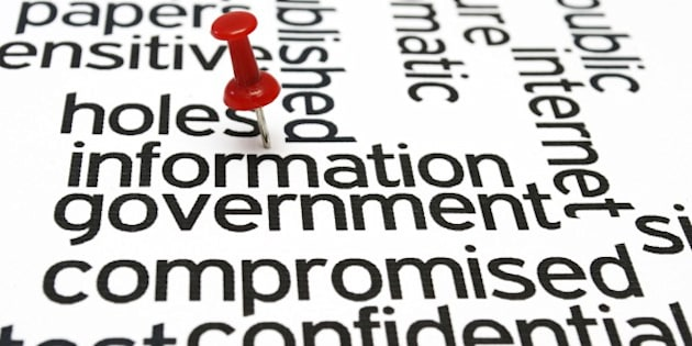 Hole information government