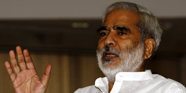 NEW DELHI, INDIA � JULY 1: RJD leader Raghuvansh Prasad Singh during all party pre-budget meeting on July 1, 2009 in Delhi, India. (Photo by Sipra Das/India Today Group/Getty Images)