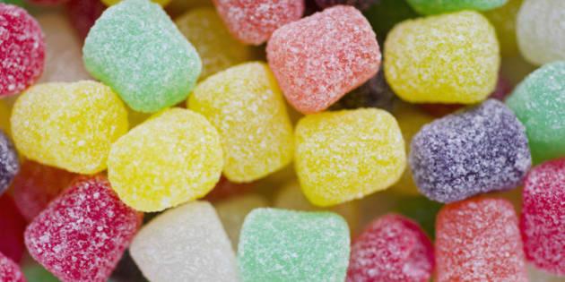 Studio shot of sweet gums